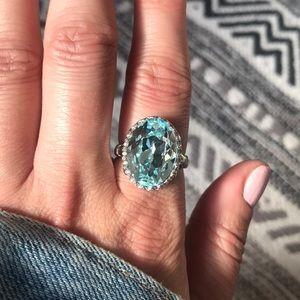 Sterling Topaz Ring